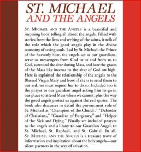 Back Cover Saint Michael and The Angels