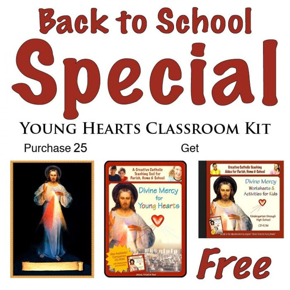 Young Hearts Classroom Kit Divine Mercy