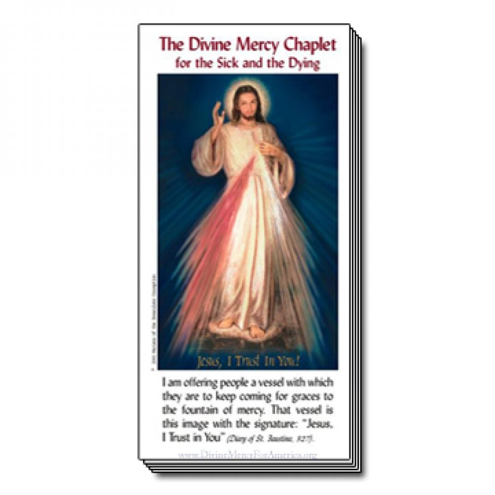 Divine Mercy Chaplet for sick and dying