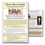 Divine Mercy Sunday Flyer